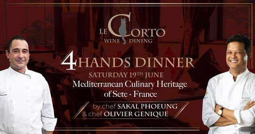 4 HANDS DINNER - OLIVIER GENIQUE X SAKAL PHOEUNG | Event in Ho Chi Minh City | AllEvents.in