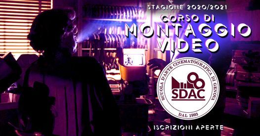 Corso di Montaggio Video a Genova   Event in Genova   AllEvents.in