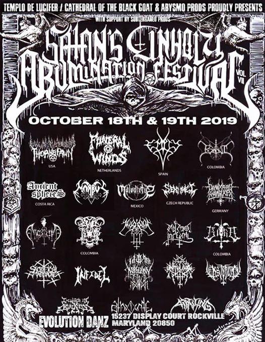 Satans Unholy Abomiatnion Fest