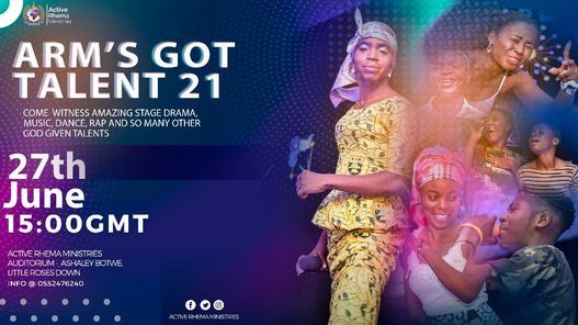 ARM's GOT TALENT, 27 June | Event in Lome | AllEvents.in