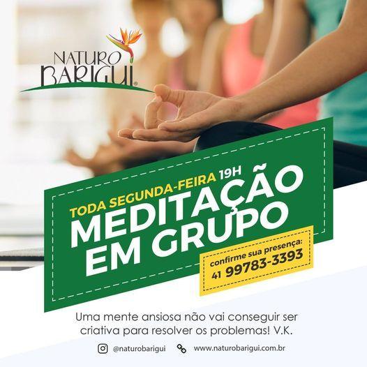Meditao em Grupo - Toda Segunda