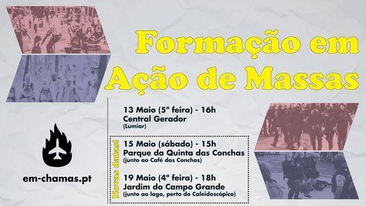 Formação em Ação de Massas | 19 de Maio, 19 May | Event in Queluz | AllEvents.in