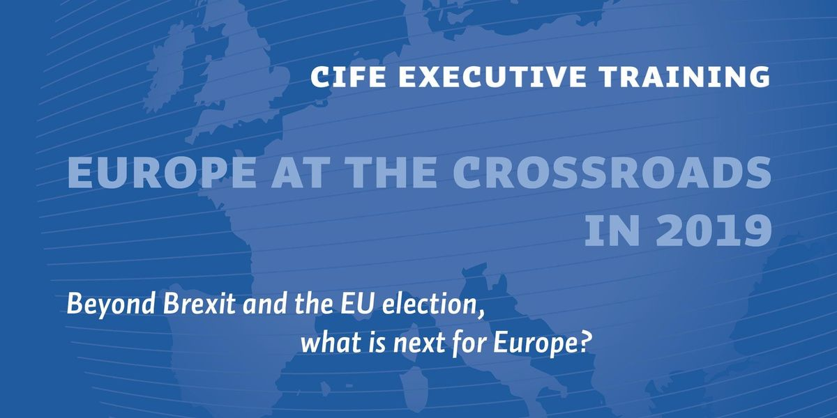 CIFE Executive Training EU at the crossroads in 2019