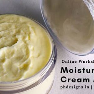 Moisturizing Cream Making Online Workshop