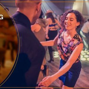 Swing Dancing Lindy Hop Open level Workshop With Nataliya Nikolska