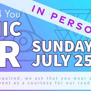IN PERSON Psychic Fair