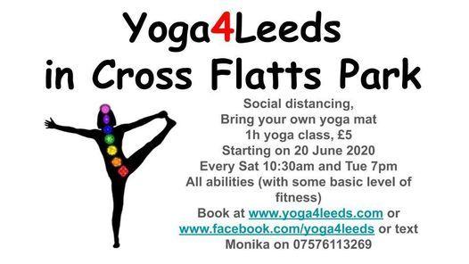 Yoga4Leeds in Cross Flatts Park