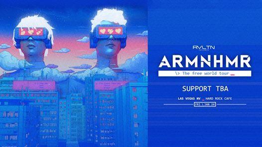 ARMNHMR at Hard Rock Live Las Vegas - The Free World Tour 2020