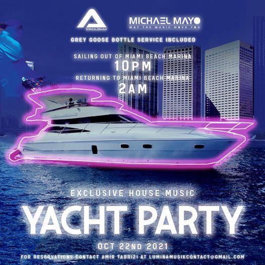 Lumina Musik Miami Yacht Cruise | Event in Miami | AllEvents.in