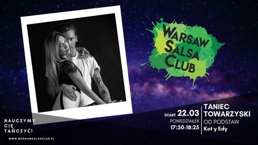 Taniec Towarzyski od podstaw - Kot y Edy - Poniedziałek 17:30 w WSC | Event in Warsaw | AllEvents.in