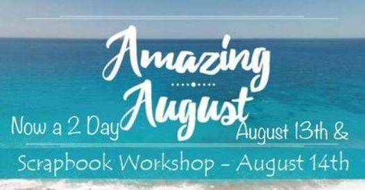 Amazing August 2 Day LIVE Scrapbook Workshop, 13 August | Event in Virginia Beach | AllEvents.in