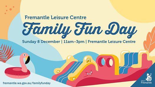 Fremantle Leisure Centre Family Fun Day
