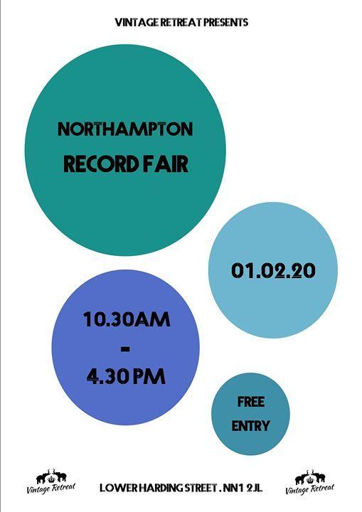 Northampton Record Fair at Vintage Retreat