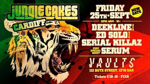 Jungle Cakes: Cardiff, 26 February   Event in Cardiff   AllEvents.in