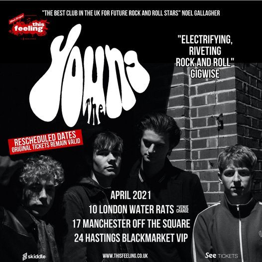 This Feeling - Hastings w/ The Young, 24 April | Event in Hastings | AllEvents.in