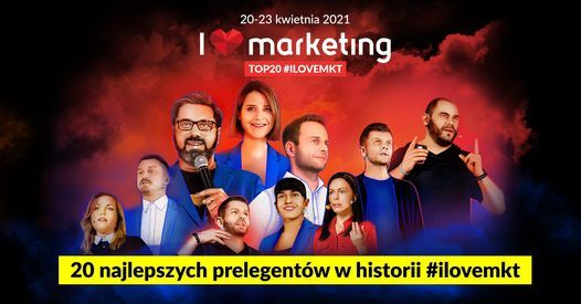 I Love Marketing℠ Special Edition, 20 April | Event in Poznan | AllEvents.in