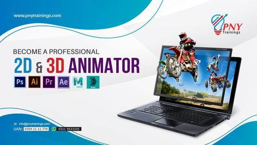 Become a Professional 2D & 3D Animator - 06 Months Course | Event in Gujranwala | AllEvents.in