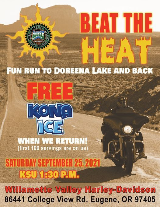 Beat The Heat Run, 25 September | Event in Eugene | AllEvents.in