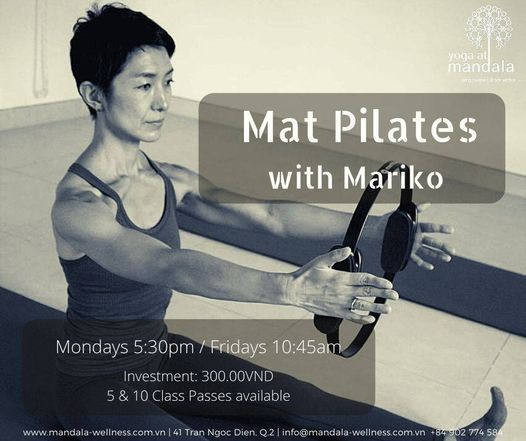 Mat Pilates with Mariko | Event in Ho Chi Minh City | AllEvents.in