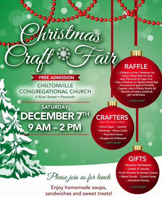 Christmas Fair Chiltonville 2020 Chiltonville Craft Fair at River St, Plymouth, MA 02360, United