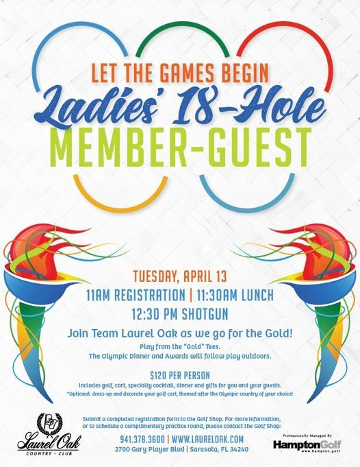 Ladies' 18-Hole Member-Guest, 13 April | Event in Brooksville | AllEvents.in
