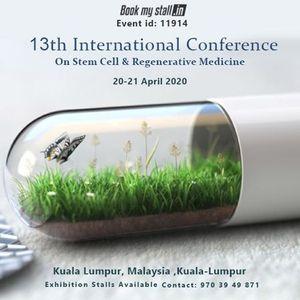 13th International Conference On Stem Cell & Regenerative Medici