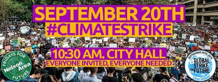 September 20th General Climate Strike