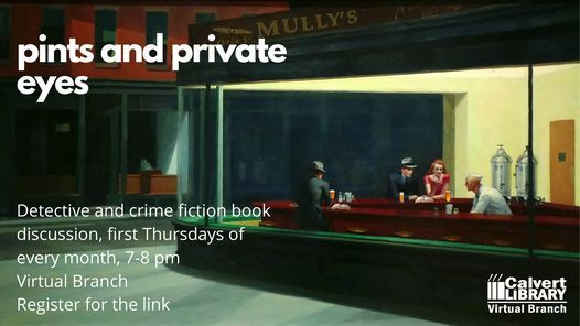 Pints and Private Eyes Book Discussion (Zoom) Centuries of June by Keith Donohue | Online Event | AllEvents.in