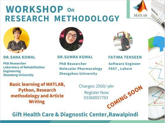 Workshop on Research Methodology, 25 May | Event in Islamabad | AllEvents.in