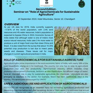 Seminar on Role of Agrochemicals for Sustainable Agriculture