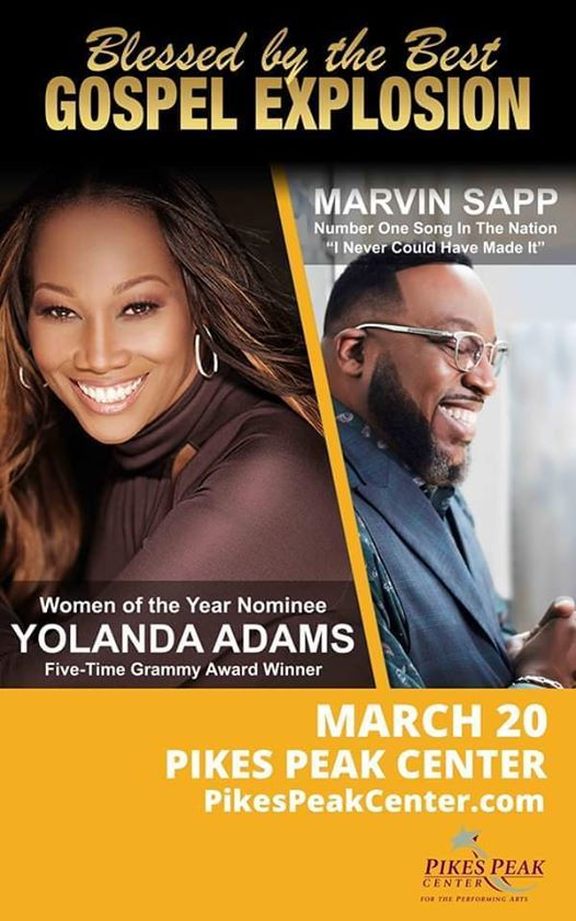 The Blessed by The best tour fea Yolanda adams and Marvin Sapp