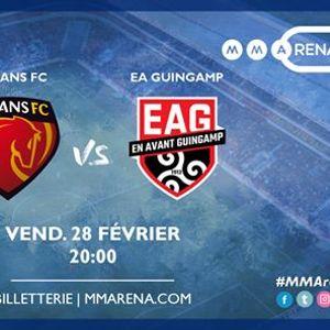 Le Mans FC - EA Guingamp