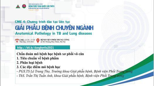 CME 4 - Giải phẫu bệnh chuyên ngành, 10 September   Event in Hanoi   AllEvents.in