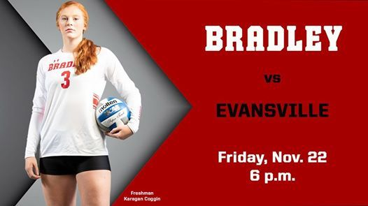 Bradley Volleyball vs. Evansville