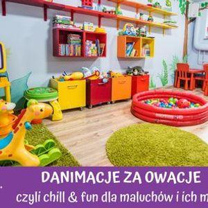 DANIMACJE ZA OWACJE - chill & fun dla maluchw i ich mam  Pozna-Rataje