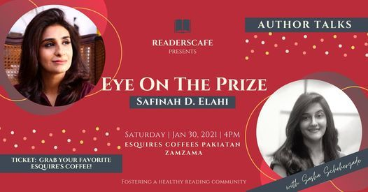 Author Talks - Eye on the Prize, 30 January | Event in Karachi | AllEvents.in