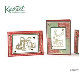 2h2207 Elegant Christmas Morning Cards
