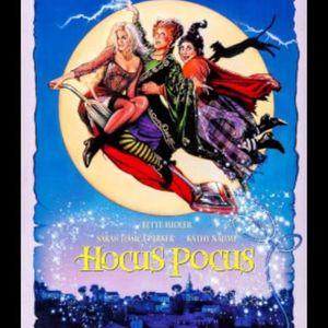 Halloween Cinema night showing hocus pocus
