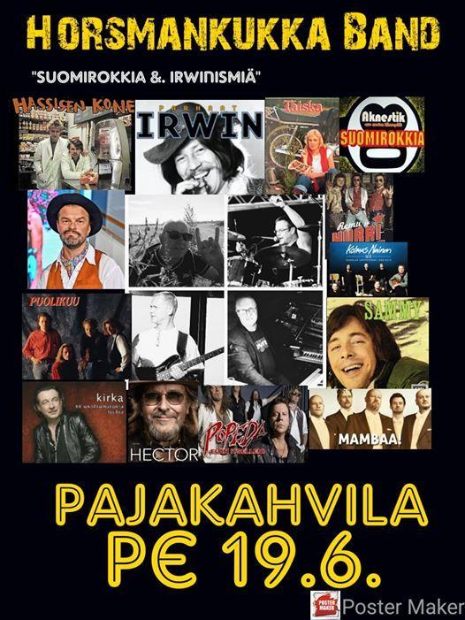 Pajakahvilan Juhannus 2020 &. Horsmankukka Band