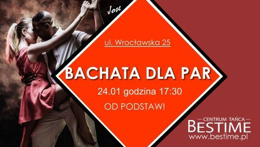 Bachata w Parach od Podstaw z Jose!, 24 January   Event in Poznan   AllEvents.in