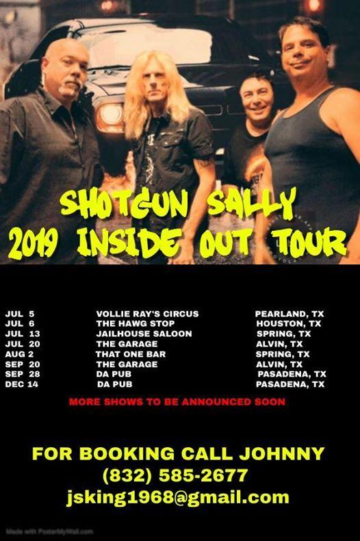 Shotgun Sally Live At The Garage At The Garage Bar Grill Alvin