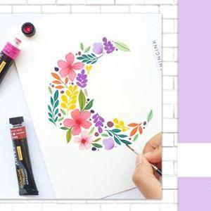 Gouche Painting workshop by Vidya Kumaresan