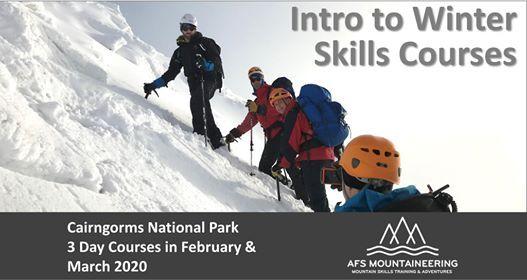 3 day Intro to winter skills