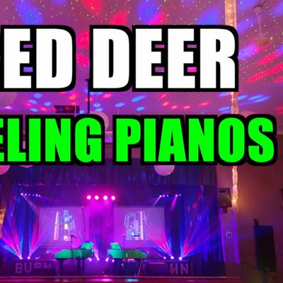 Red Deer Dueling Pianos Extreme- Burn N Mahn Audience Request Show