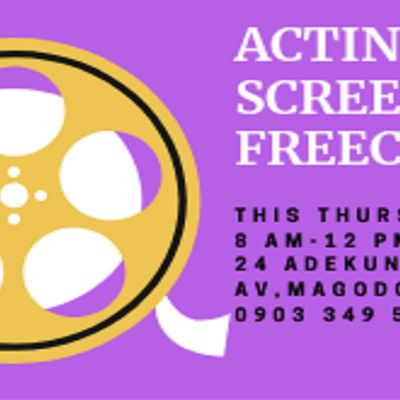 ACTING FOR SCREEN FREECLASS