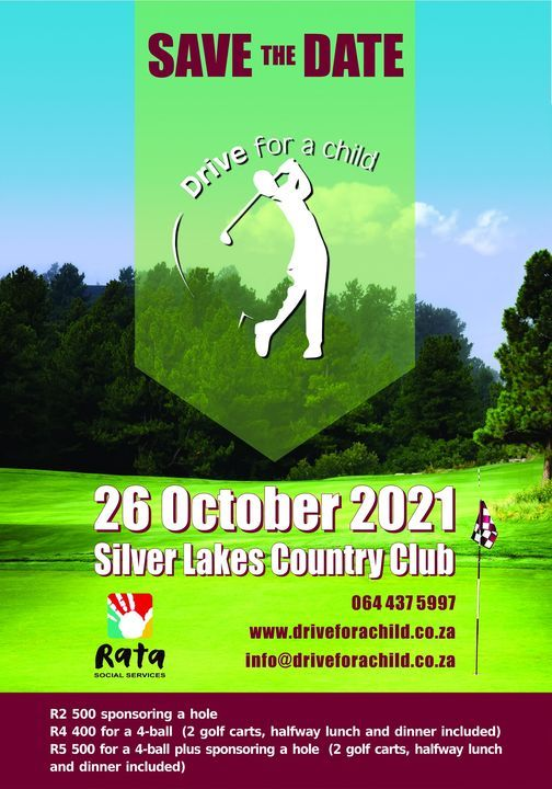 Drive for a Child Golf Day, 26 October   Event in Cullinan   AllEvents.in