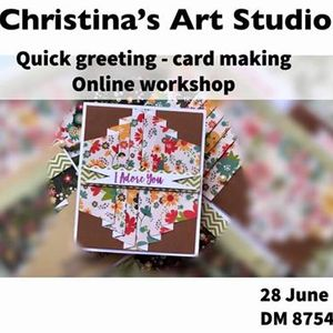 Quick greetings - cardmaking workshop
