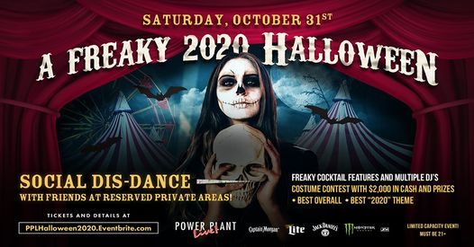 Power Plant Halloween 2020 A Freaky 2020 Halloween, POWER PLANT LIVE!, Baltimore, 31 October