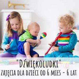 Dwikoludki zajcia dla dzieci od 6 mc do 6 lat