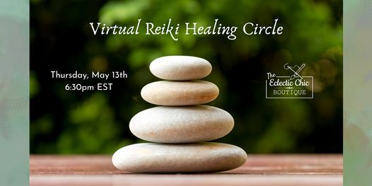 Virtual Reiki Healing Circle, 13 May | Online Event | AllEvents.in